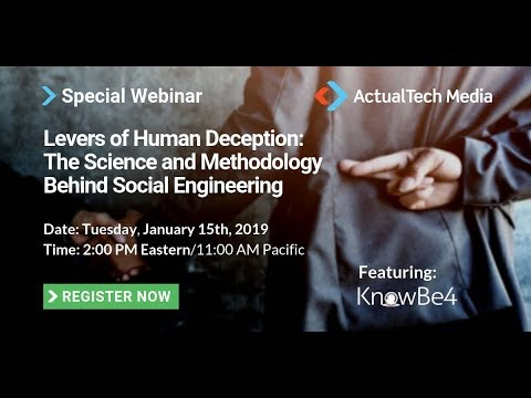 Levers of Human Deception_ The Science and Methodology Behind Social  Engineering with KnowBe4
