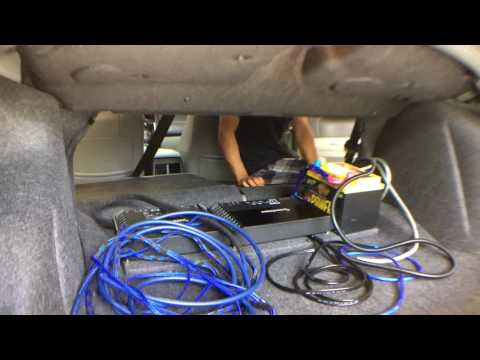 Rockford Fosgate Time lapse install in a Chrysler