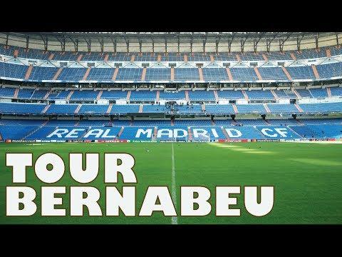 Real Madrid Stadium Tour, Madrid - Spain | #CJtraces