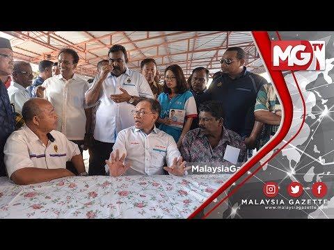 TERKINI : Grab Bunuh Pendapatan Kami, Keluh Pemandu Teksi PD kepada Anwar