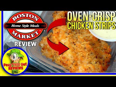 Boston Market® | Oven-Crisp Chicken Strips Review! 🐔🍽️