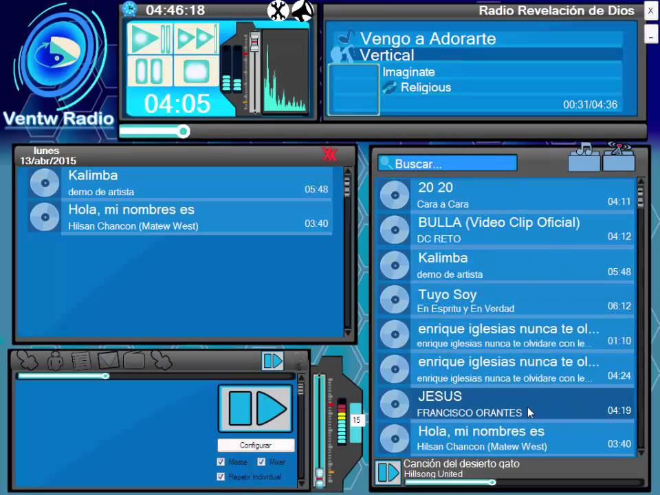 Ventw radio software de automatizaci n radial gratis for Software arredamento gratis