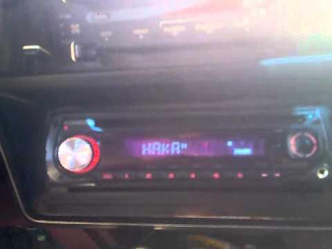 Autoestereo Kenwood KDC MP208 - YouTube