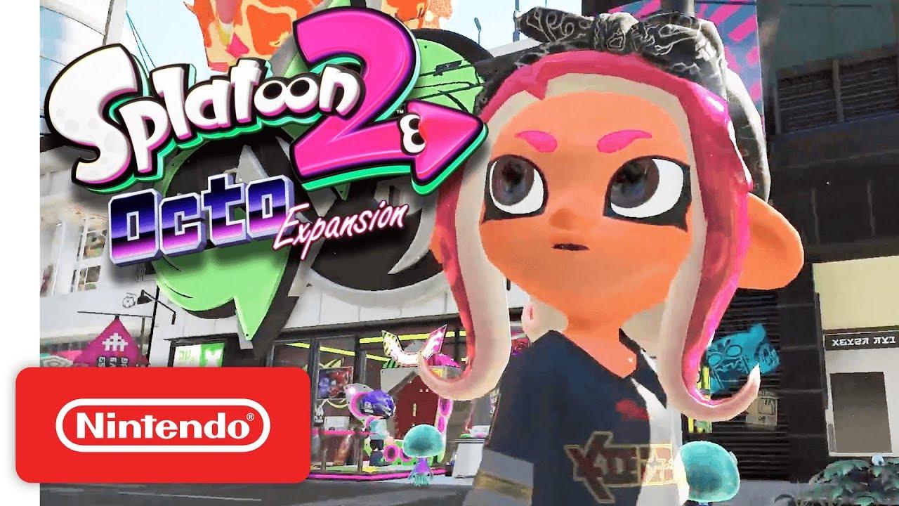 Octo Expansion Subway Map.Splatoon 2 Octo Expansion Nintendo Switch Nintendo Direct 3 8 2018