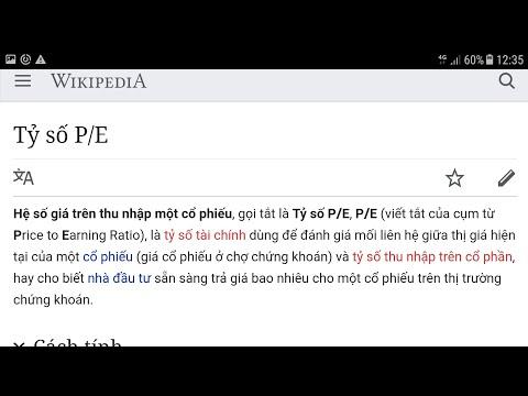 Tại Sao Nên Sử Dụng E/P Và Hiểu đúng Về P/E Khi định Giá