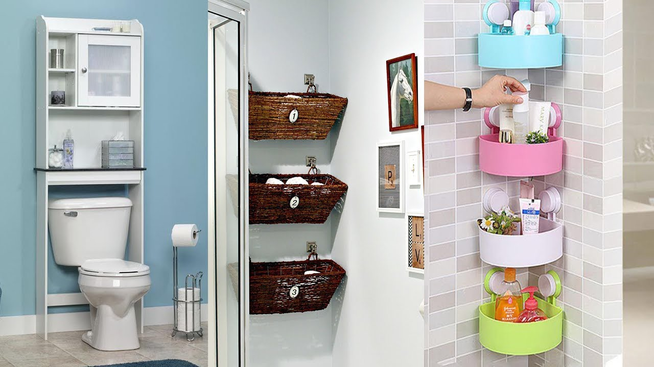 27 IKEA Small Bathroom Storage Ideas - YouTube