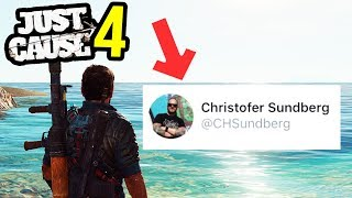 JUST CAUSE 4 THANK THIS MAN! (PS4 XBOX ONE GAMEPLAY SOON?) (New Info)