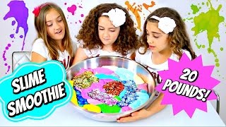 20 lb Slime Smoothie!!  We