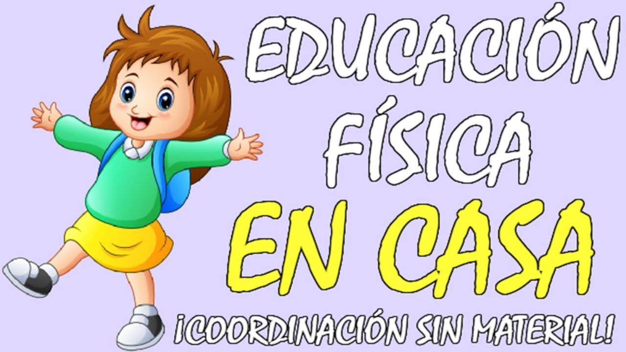 18 EJERCICIOS de COORDINACIÓN para NIÑOS y JÓVENES en CASA con el cuerpo, EDUCACIÓN FÍSICA EN CASA😍