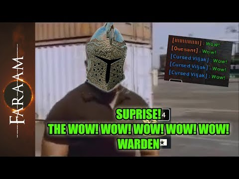 [For Honor] The Wow!Wow!Wow!Wow!Wow! Warden - Surprise!
