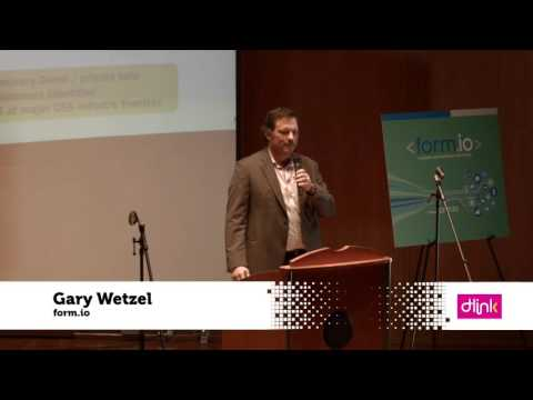 Gary Wetzel - form.io - Dallas New Tech 1/5/16