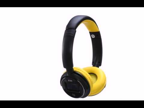 Wireless bluetooth headphones yellow - wireless bluetooth headphones orange