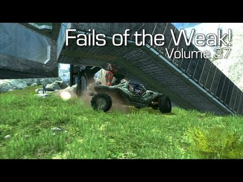 Funny Halo 4 Bloopers and Screw Ups! – Fails of the Weak #37