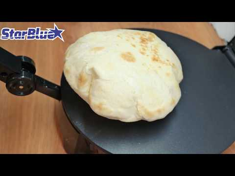 How to make fluff roti and tortilla by Roti Maker