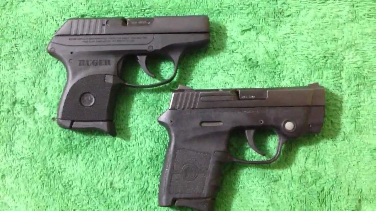 Ruger Lcp Vs S Amp W Bodyguard 380
