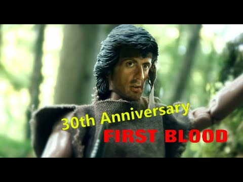 FIRST BLOOD 1982  30th Anniversary 2012 in Hope B.C Canada