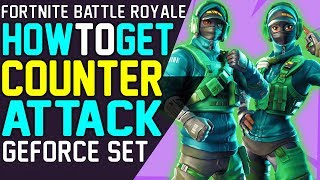 How to GET COUNTERATTACK SET FORTNITE GEFORCE BUNDLE - Best way to get Reflex Skin