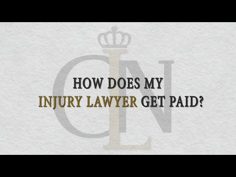 How Does A Personal Injury Lawyer's Salary Get Paid?