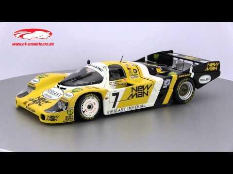 ck-modelcars-video: Porsche 956L Newman Winner 24h LeMans 1984 Minichamps