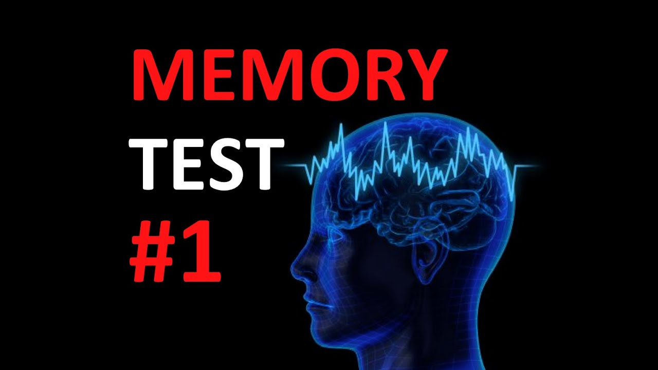 Quick Memory Test: How good is your memory? #1 - YouTube