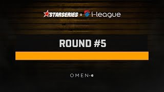 Round #5, Day 1, StarSeries i-League PUBG Season 2