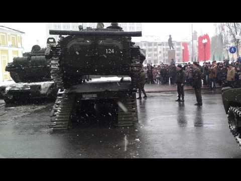 Заезд второго танка