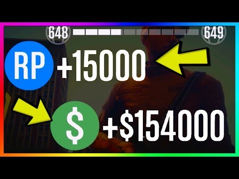 GTA 5 Online: NEW UNLIMITED MONEY & RP METHOD! Best Fast Money Not Money Glitch PS4/Xbox One/PC 1.46