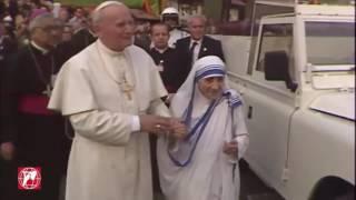 Thánh Giáo Hoàng Gioan Phaolô II và Thánh Nữ Têrêsa Calcutta