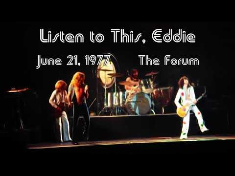 Listen To This, Eddie - Led Zeppelin [NEW Remaster]