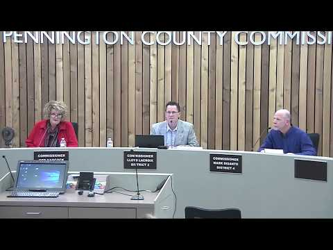 2-20-2018 Pennington County Board of Commissioners Meeting