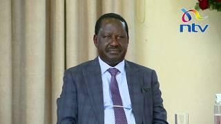 DP Ruto, Raila, Kalonzo, Mudavadi join Uhuru to receive BBI report