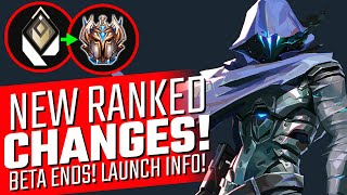 VALORANT: NEW Ranked Changes! - Beta is OVER! Release Date Info