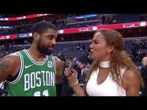 Kyrie Irving postgame interview after Celtics OT win over Wizards | Feb 8, 2018
