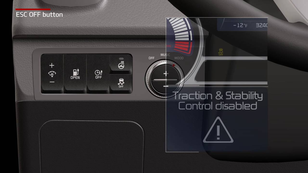 Hyundai Elantra: ESC OFF usage