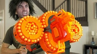 One of GunVsGun's most viewed videos: NERF WAR MASTER