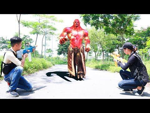 Superhero action Spiderman SWAT Beautiful Girl Nerf guns Zombies Bite Joker Rescue Leader Nerf war