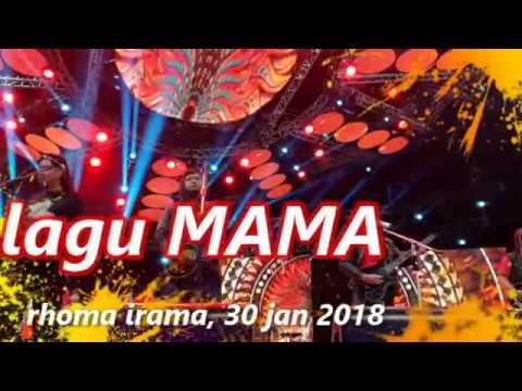 rhoma irama lagu MAMA cek sound 30 jan 2018