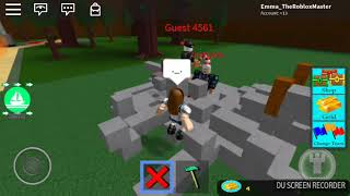 Roblox video! with my friend!