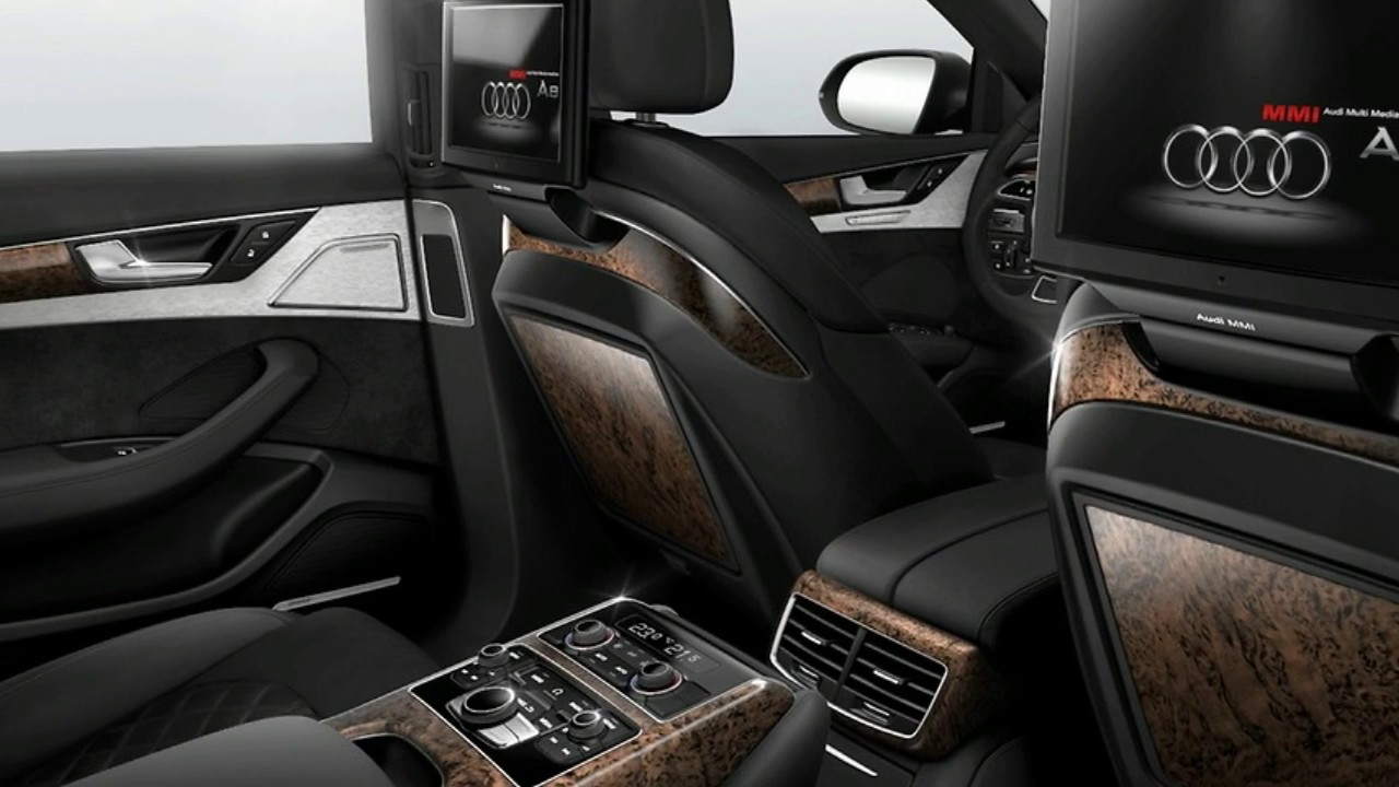 2017 Audi A8 Sedan Interior Youtube