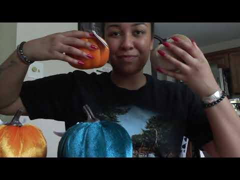 Fall + Halloween Dollar Tree Haul | Home Decor + Crafting | missmyluck91
