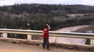 Kiskatinaw Bridge, Old Alaska Highway