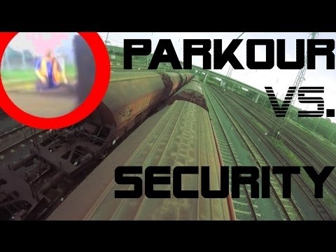 PARKOUR Vs. SECURITY - Real Chase Situation #014 [TLDK]