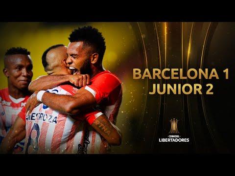 Barcelona SC vs. Junior [1-2] | RESUMEN | Fase de Grupos | Jornada 3 | CONMEBOL Libertadores 2020