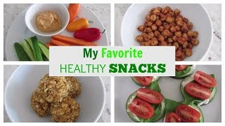 10 Healthy Snacks | My Favorite Snacks