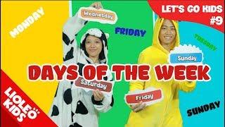 Bé học tiếng Anh về Các ngày trong tuần | [Trọn bộ 20 chủ đề từ vựng sách Let's go] [Lioleo Kids]