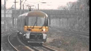 Heathrow Express Train at Ealing Broadway