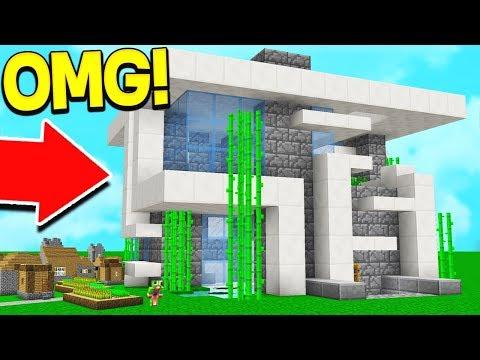 WORLD'S BIGGEST REDSTONE MINECRAFT HOUSE!