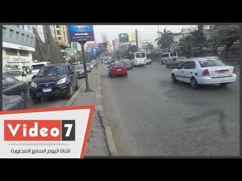 اليوم السابع :النشرة المرورية..كثافات مرورية متحركة بمحاور وميادين القاهرة