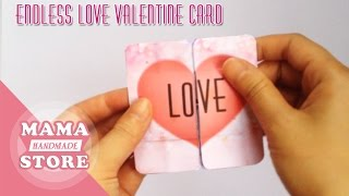 How To Make An Endless Love Card