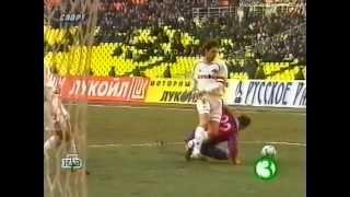 СПАРТАК ЦСКА 1 0 Чемпионат России 2001